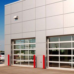 250 250 full vision endüstriyel kapı