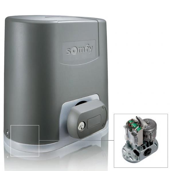 Somfy Elixo 500 230 V RTS yana kayar bahçe kapısı motoru