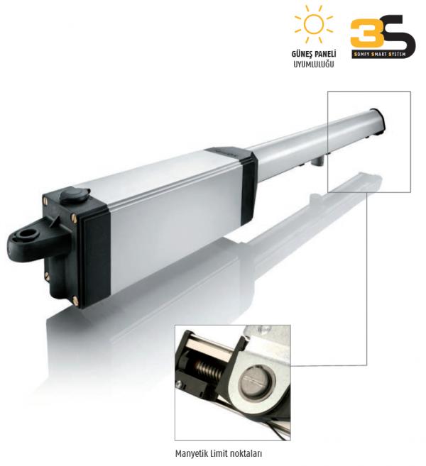 Somfy Ixengo L 3S RTS Dairesel kapı motoru