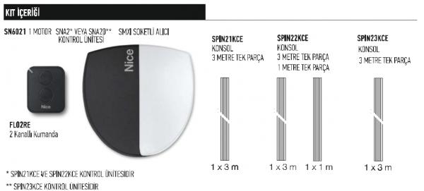 Nice SN6021 Spin 21 22 23