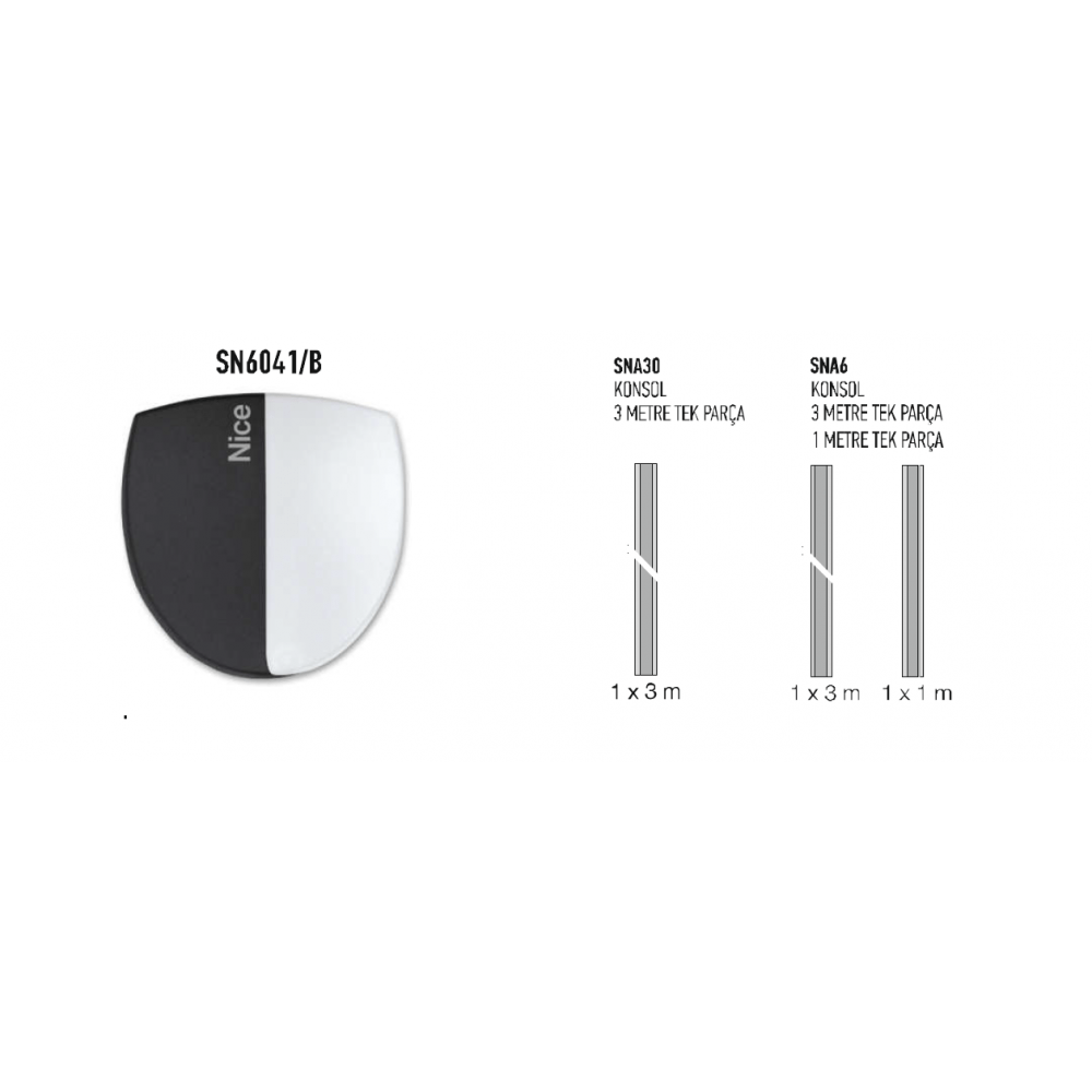 Nice-SN6041 seksiyonel kapı motoru