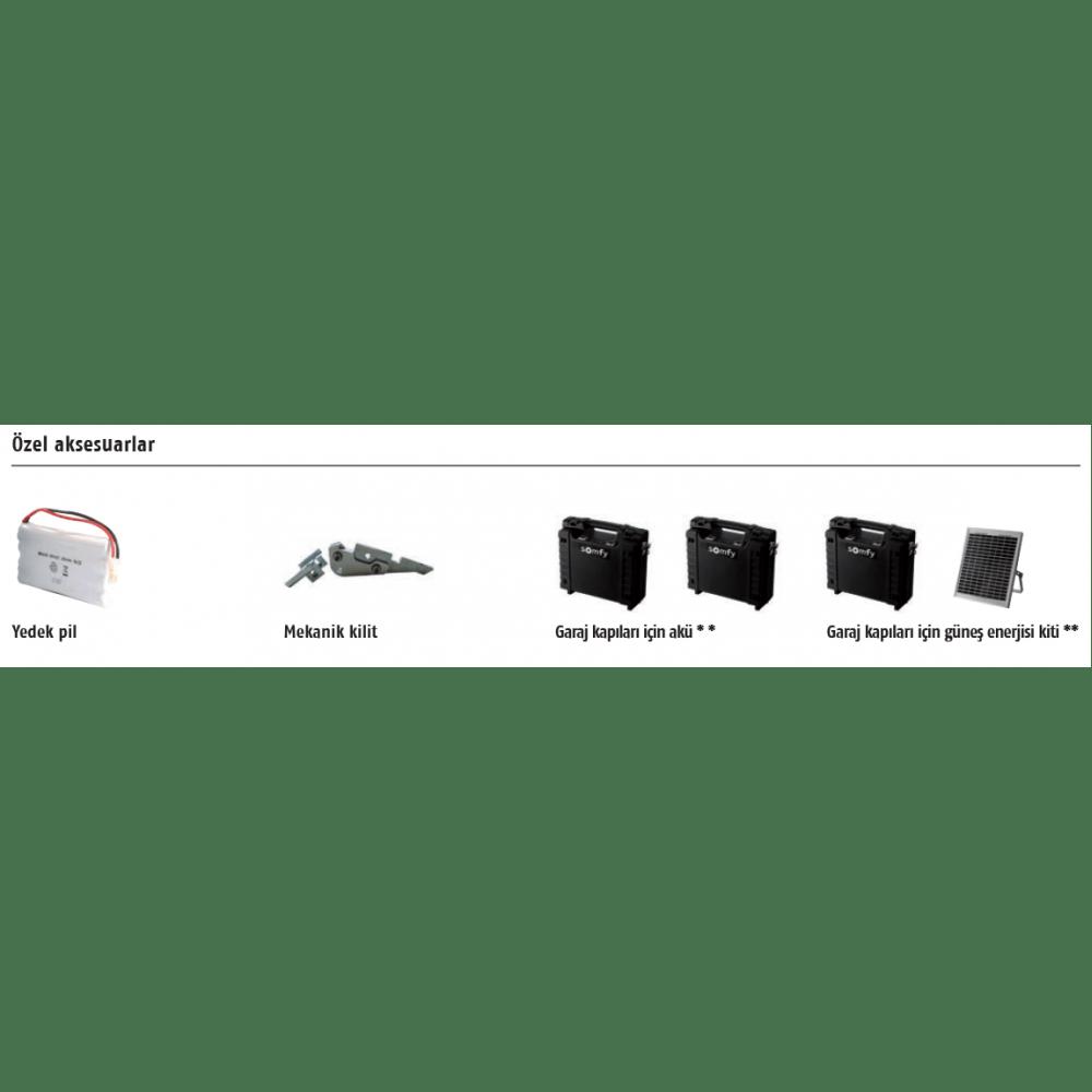 Somfy Dexxo Optimo RTS Seksiyonel Garaj Kapısı Motoru