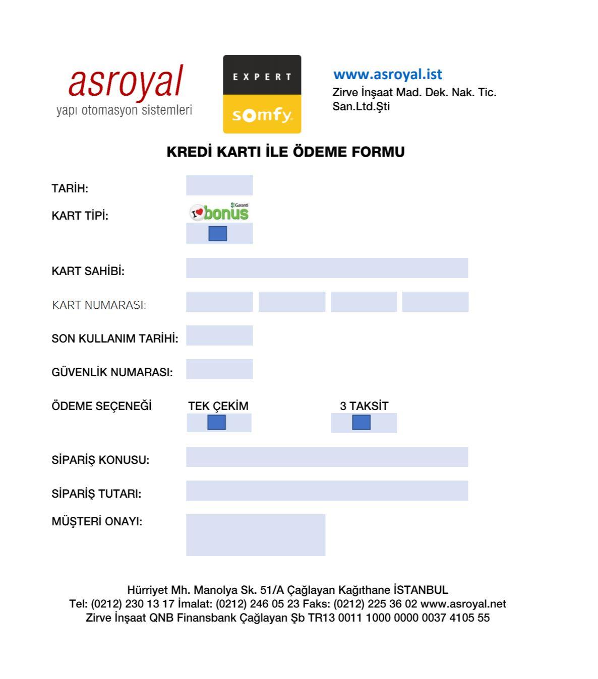 somfy mail order formu